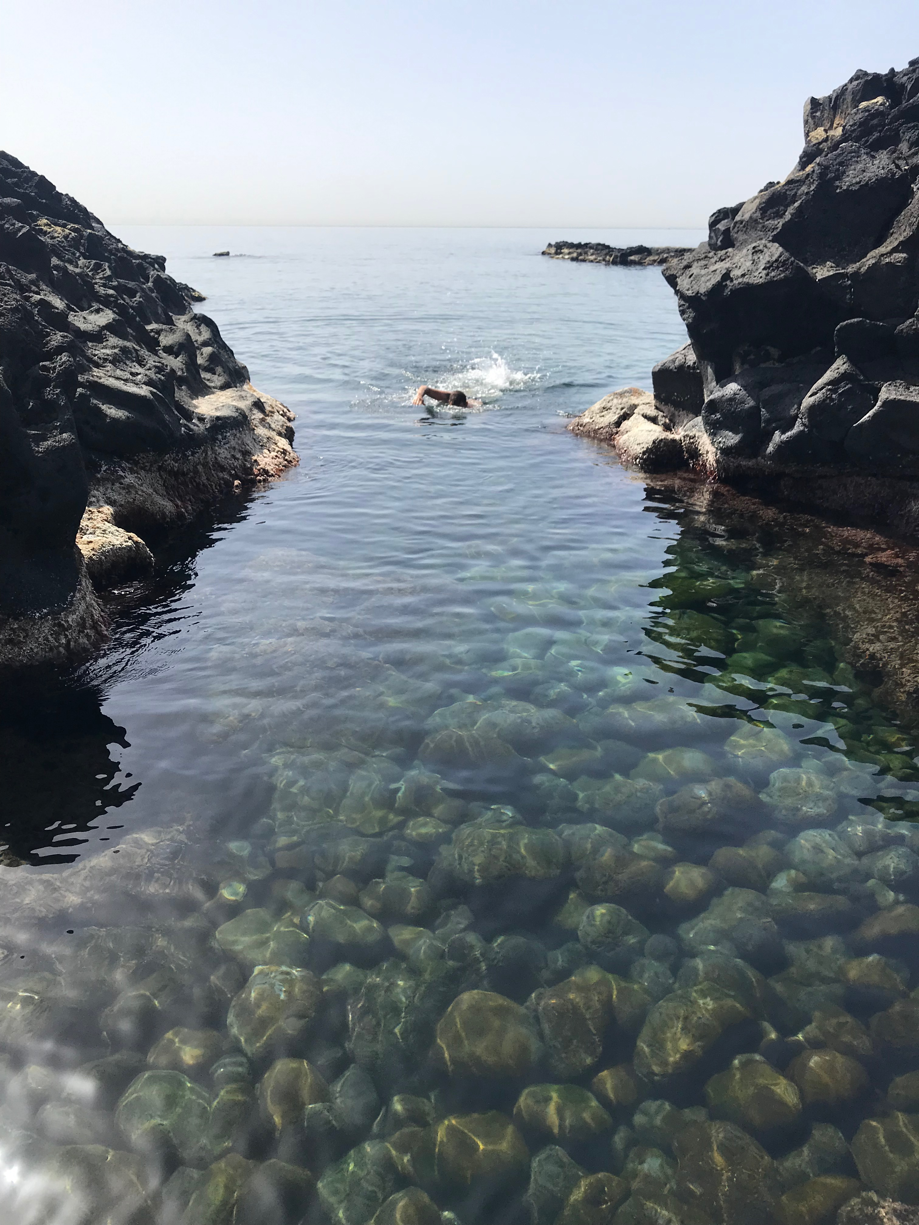 entrata in acqua