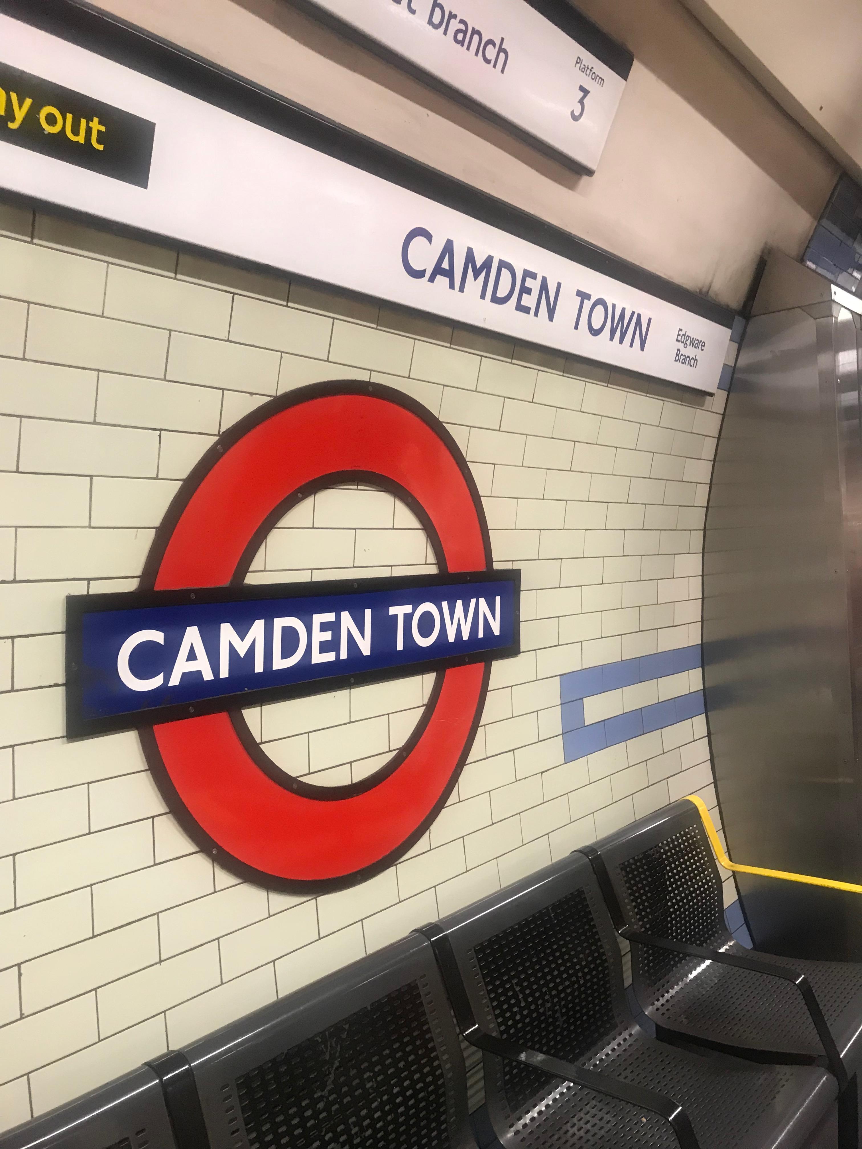tube Camden town
